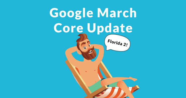 الگوریتم گوگل فلوریدا